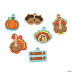 Cute Turkey Charms