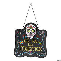 Día de los Muertos Sign