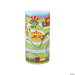 3D Amusement Park Giant Sticker Scenes