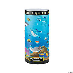 3D Aquarium Giant Sticker Scenes