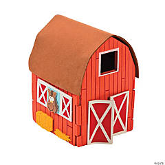 3D Barn Craft Kit