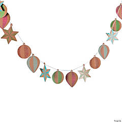 3D Christmas Ornament Garland