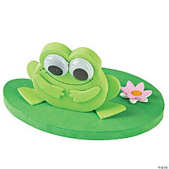 3D Floating Frog on a Lily Pad Craft Kit