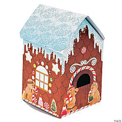 3D Gingerbread House Sticker Scenes