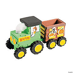 3D Harvest Hayride Craft Kit