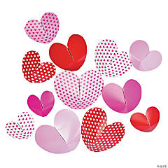 3D Heart Wall Decorations