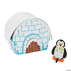 3D Igloo Craft Kit