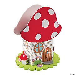3D Mushroom House Craft Kit