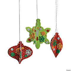 3D Printed Christmas Ornament Craft Kit