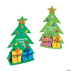 3D Thankful Christmas Tree Craft Kit