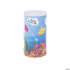 3D Under the Sea Giant Sticker Scenes