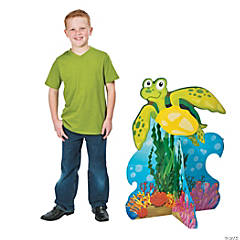 3D Under the Sea Turtle Stand-Up