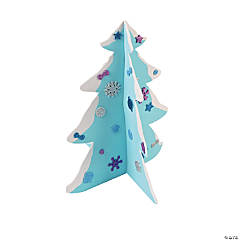 3D Winter Tree Craft Kit
