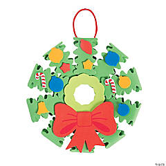 3D Wreath Ornament Craft Kit