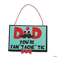 """Dad You're Fan 'Tache' Tic"" Craft Kit"
