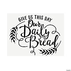 Daily Bread Wall Cling
