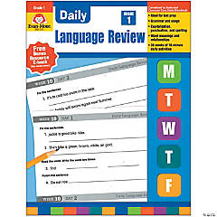 Daily Language Review Teacher's Edition, Grade 1