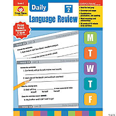Daily Language Review Teacher's Edition, Grade 2