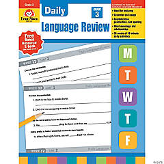 Daily Language Review Teacher's Edition, Grade 3