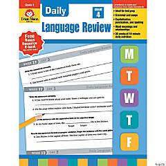 Daily Language Review Teacher's Edition, Grade 4