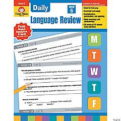 Daily Language Review Teacher's Edition, Grade 6