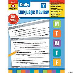 Daily Language Review, Teacher's Edition Book, Grade 7