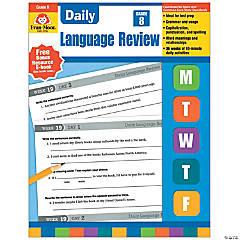 Daily Language Review Teacher's Edition Book, Grade 8