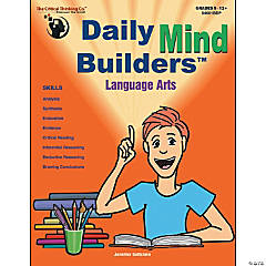 Daily Mind Builders Language Arts Book, Grade 5-12