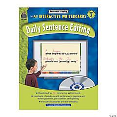 Daily Sentence Editing Grade 3