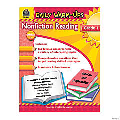 Daily Warm-Ups: Nonfiction Reading - Grade 1