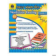 Daily Warm-Ups: Nonfiction Reading - Grade 2