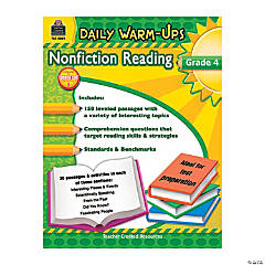 Daily Warm-Ups: Nonfiction Reading - Grade 4