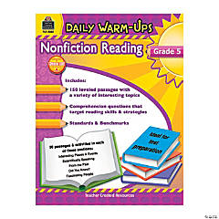 Daily Warm-Ups: Nonfiction Reading - Grade 5