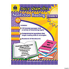 Daily Warm-Ups: Nonfiction Reading - Grade 6