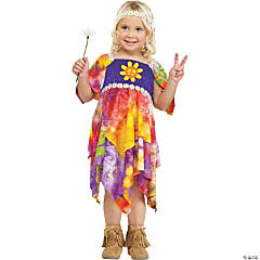 Daisy Hippie Costume For Girls