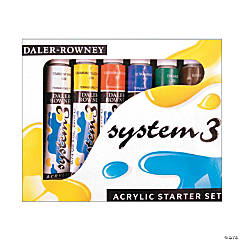 Daler-Rowney System 3 Acrylic Paint Sets