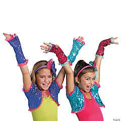 Dance Craze Arm Warmers for Girls