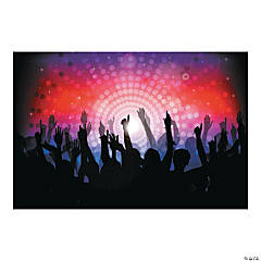 Dance Party Backdrop Banner