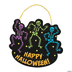 Dancing Skeletons Sign Craft Kit