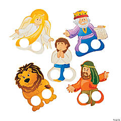 Daniel & the Lions' Den Finger Puppets