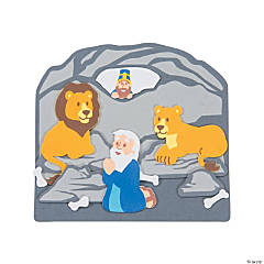 Daniel & the Lions' Den Scene Craft Kit