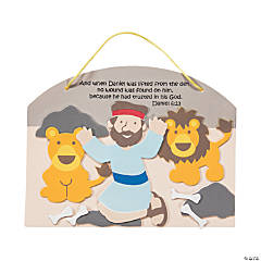 Daniel & the Lions' Den Sign Craft Kit
