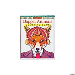 Dapper Animals Adult Coloring Book