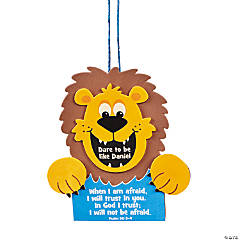 """""""Dare To Be Like Daniel"""" Sign Craft Kit"""