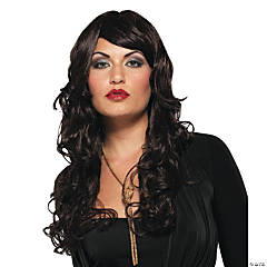 Dark Brown Supermodel Wig