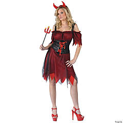 Dark Devil Adult Women's Costume