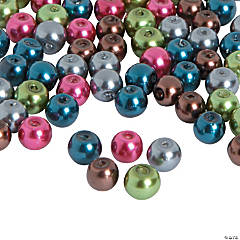 Dark Pearl Bead Assortment - 6mm