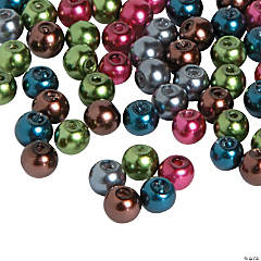 Dark Pearl Bead Assortment - 4mm
