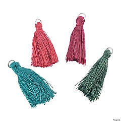 Dark Tassel Charms