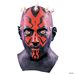 Darth Maul Latex Star Wars Mask